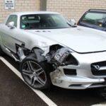 Kombi Driver Crashes Into Minister's Mercedes Benz