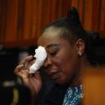 'Serial killer' cop breaks down over boyfriend's death